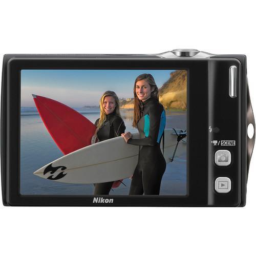 Compact - Nikon Coolpix S4000 Noir Nikkor Nikkor 4x Wide Optical Zoom 4,9-19,6mm f/3.2-5.9