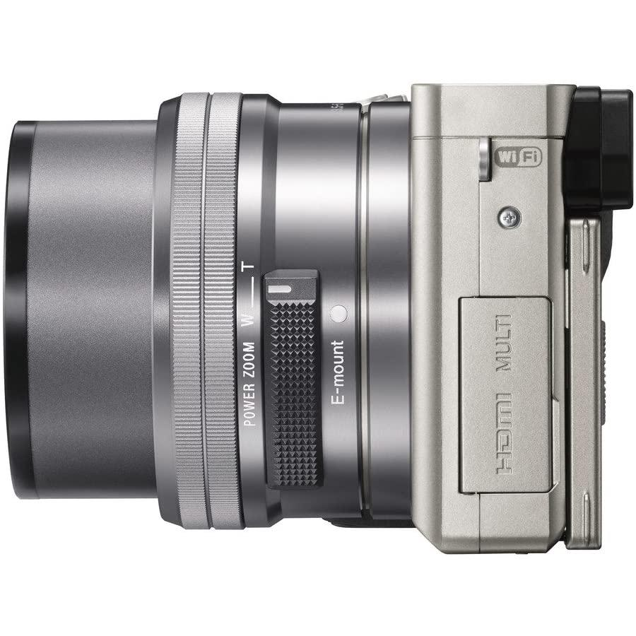 Autre - Sony Alpha 6000 Gris/Noir Sony Sony E PZ 16-50 mm f/3.5-5.6 OSS