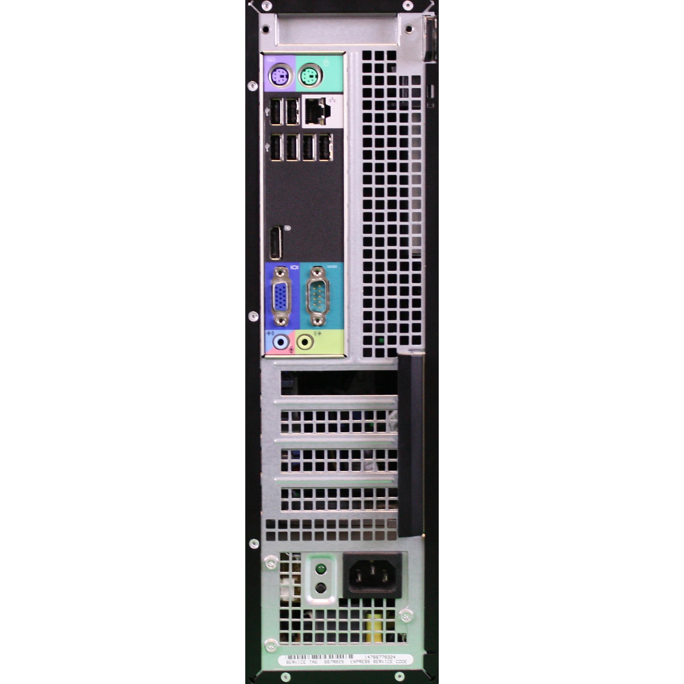Dell OptiPlex 790 DT Pentium 2,9 GHz - SSD 250 Go RAM 4 Go