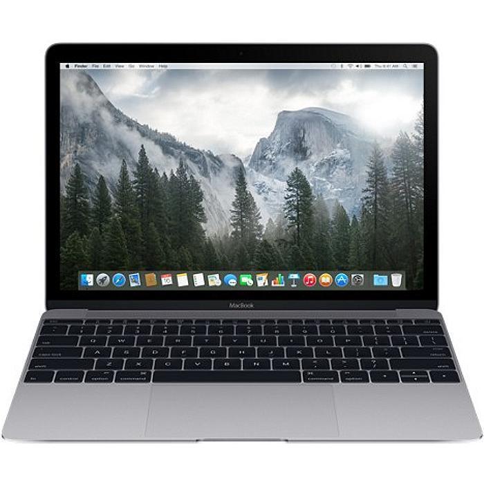 """MacBook 12"""" Retina (2016) - Core m7 1,3 GHz - SSD 512 Go - 8 Go AZERTY - Français"""