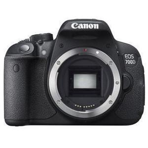 Spiegelreflexkamera Canon EOS 700D Nur Gehäuse - Schwarz
