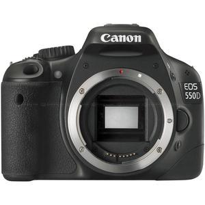 Reflex Canon EOS 550D Alleen Body - Zwart