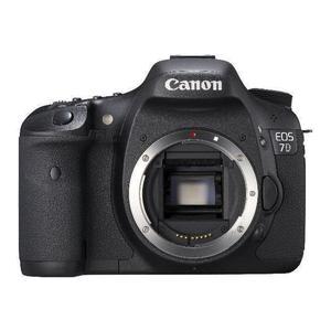 Canon EOS 7D nu - Noir
