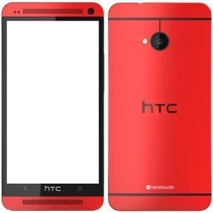 HTC One M7 32 GB   - Red - Unlocked