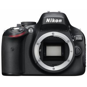 Reflexkamera - Nikon D5100 ohne Objektiv - Schwarz