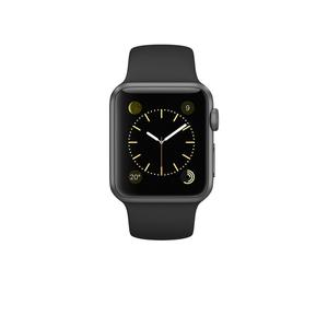 Apple Watch (Series 1) December 2016 38 - Aluminium Space gray - Sport loop Black