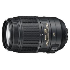 Objetivo Nikon - AF-S DX 55-300 mm f/4,5-5,6 ED VR série G