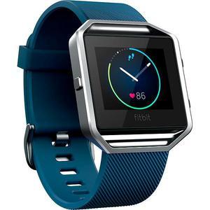 Relojes Cardio GPS Fitbit Blaze - Plata