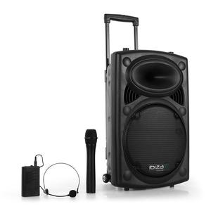 Enceinte Bluetooth Ibiza Port12VHF-BT - Noir
