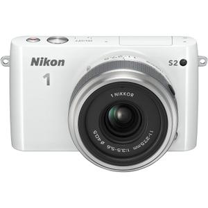 Cámara Híbrida - Nikon 1 S2 - Blanco + Objetivo Nikkor 11-27.5 mm