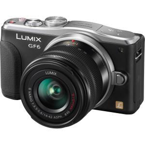 Hybride Panasonic Lumix DMC-GF6 - Zwart / Grijs + Lens Panasonic Lumix G Vario 14-42mm F3.5-5.6 II ASPH Mega OIS