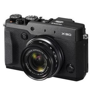 Compact Fujifilm FinePix X30 - Zwart