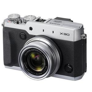 Fotocamera compatta - Fujifilm Finepix X30 - Argento/Nero