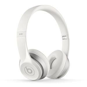 Cascos        Micrófono Beats By Dr. Dre Solo 2 - Blanco