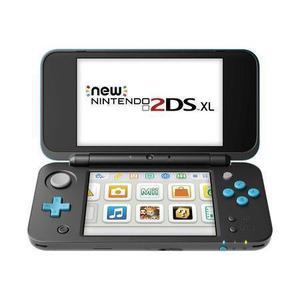 Console Nintendo New 2DS XL 4 Go  - Noir et Turquoise