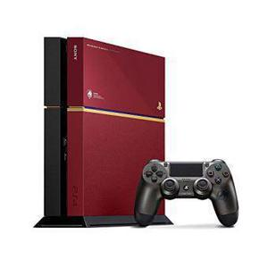 Console Sony PlayStation 4 Metal Gear Solid V: The Phantom Pain Limited Edition 500 GB + controller + videospel Metal Gear Solid V: The Phantom Pain - Rood