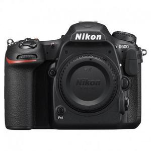 Spiegelreflex - Nikon D500 Ohne Objektiv - Schwarz