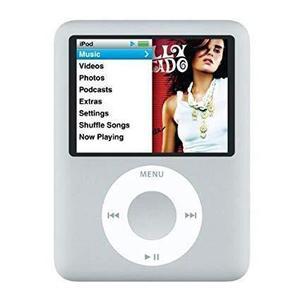 MP3-player & MP4 4GB iPod Nano 3 - Silber