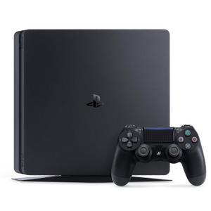 Konsole Sony PlayStation 4 Slim 500 GB + 1 DualShock 4 Kontroller - Schwarz