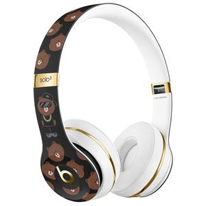 Beats By Dr. Dre Solo3 Line Friends Special Edition Wireless Bluetooth Headphones with microphone - White/Black