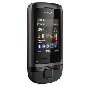 Nokia C2-05 - Zwart/Grijs- Simlockvrij