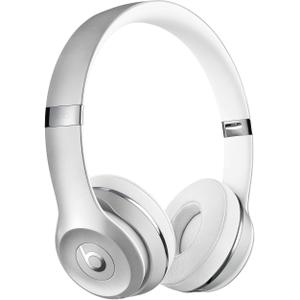 Casque Réducteur de Bruit Bluetooth avec Micro Beats By Dr. Dre Solo 3 Wireless - Argent