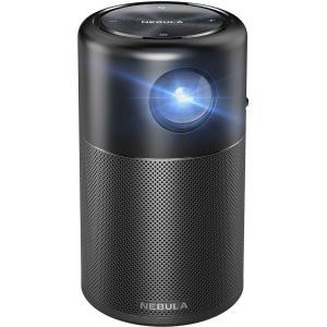 Proyector de vídeo Nebula Capsule 100 Lumenes Negro