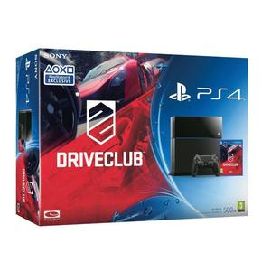 Pack - Sony PS4 500 GB + DriveClub - Schwarz