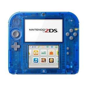 Console Nintendo 2DS - Bleu Transparent