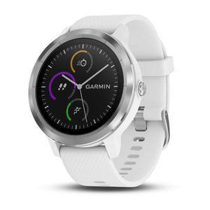 Montre Cardio GPS Garmin Vívoactive 3 - Blanc/Argent