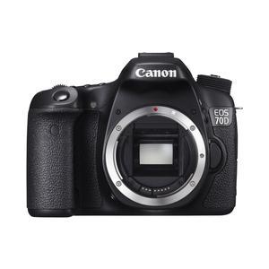 Reflex Canon EOS 70D Vain Vartalo - Musta