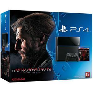 Pack - Sony PS4 500 Go + Metal Gear Solid V Phantom Pain - Noir