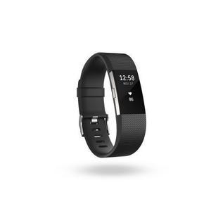 Bracciale Activity Fitbit Charge 2 - Taglia S - Nero / Grigio