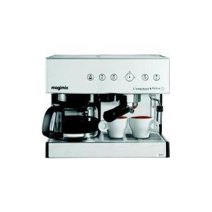 Cafetera Espresso Combinada Magimix 11423 Auto Chrome Mat