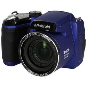 Bridge Polaroid IS2132 - Sininen + Objektiivi Polaroid 25-525mm f/3.1-5.8