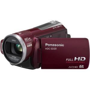 Videokamera Panasonic HDC-SD20 - Rot