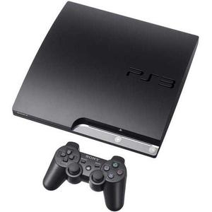 Console Sony PlayStation 3 Slim 120 GB + Controller + Grand Theft Auto V - Zwart