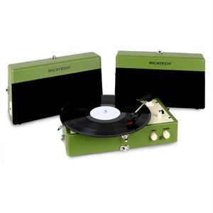 Tourne-disque Ricatech RTT80 - Vert