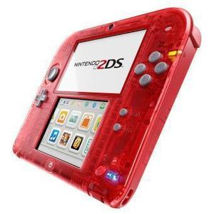 Console Nintendo 2DS - Rouge Transparent