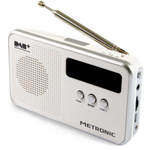 Radio numérique DAB Metronic 477250