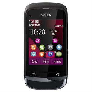 Nokia C2-03 - Schwarz- Ohne Vertrag