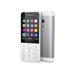 Nokia 230 Dual Sim - Silber- Ohne Vertrag
