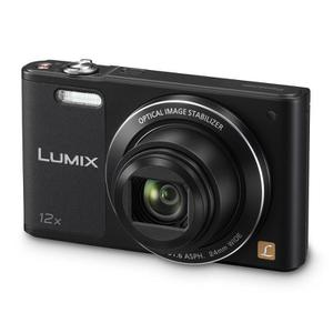 Panasonic Lumix DMC-SZ10 - Kompaktikamera - Musta + Panasonic Lumix 4,3 - 51,6 mm f/3,1 - 6,3 ASPH - Objektiivit