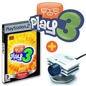 Camera EyeToy Play 3 + Jeu Eyetoy play 3 Playstation 2