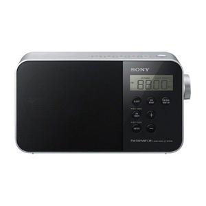 Kelloradio Sony ICF-M780SL - Musta/Harmaa