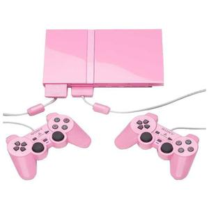 Consola Sony Playstation 2 Slim 1 GB - Rosa + 2 mandos