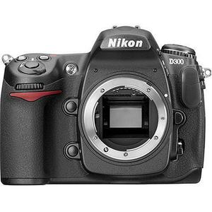 Reflex - Nikon D300 - Negro + Lente Nikon af-snikkor 18-200m 1: 3.5-5.6 ng ED