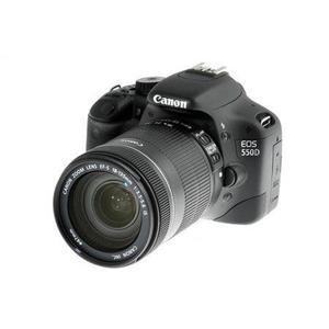 Fotocamera Reflex - Canon EOS 550D - Nero + obiettivo EFS 18-135 mm IS