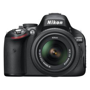 Spiegelreflexkamera - Nikon D5100 - Schwarz + AF-S Nikkor 18-55mm Objektiv