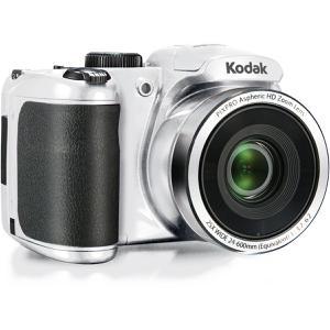 Kompakt Bridge Kamera Kodak PixPro AZ252 Weiß + Objektiv Kodak PixPro Aspheric HD Zoom Lens 24-600 mm f/3.7-6.2